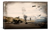Omaha Beach, Canvas Print