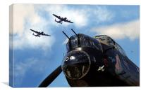 3 Sisters at Kirkby , Canvas Print