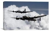 Bomber Brothers , Canvas Print
