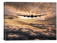 Britains Bomber, Canvas Print
