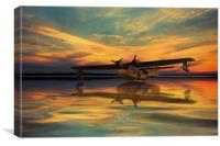 Plane Sailing , Canvas Print