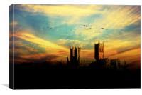 RAF Bomber Command , Canvas Print