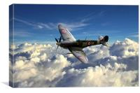 Spitfire MH434 , Canvas Print