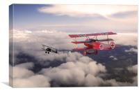 The Red Baron, Canvas Print
