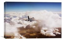 Vulcan Air, Canvas Print