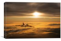 Another Vulcan Sunset, Canvas Print