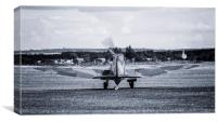 Spitfire Taxi Out, Canvas Print