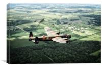 Lincolnshire Warbirds, Canvas Print