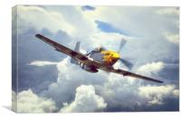 P51 Mustang - Frankie, Canvas Print