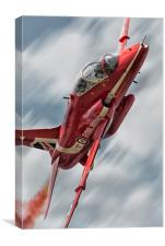 Synchro Red, Canvas Print