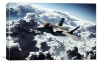 Strike Fighters, Canvas Print