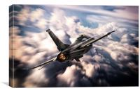 F-16 20th Fighter Wing, Canvas Print