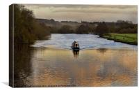 The Thames at Pangbourne, Canvas Print