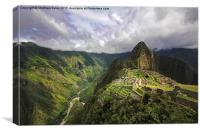 Historic Machu Picchu , Canvas Print