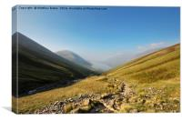 Scafell Pike path, Canvas Print