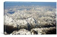 The Alps of northern Italy, Canvas Print