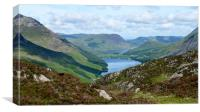View from Haystacks, Canvas Print