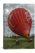 HDR  Hot Air Balloon, Canvas Print