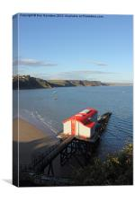 Tenby Lifeboat Station 1905, Canvas Print