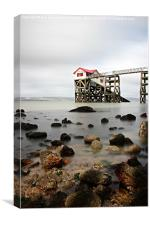 Mumbles Lifeboat Station, Canvas Print