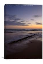 Caswell Sunset, Canvas Print