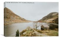 Llyn Ogwen Views, Canvas Print