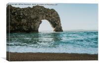 Durdle Door Seascape, Canvas Print