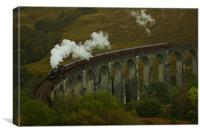 Glenfinnan viaduct, Canvas Print