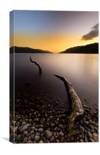 Loch Ness Monster, Canvas Print
