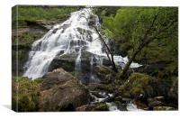 Steall Falls, Canvas Print