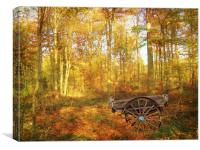 The Woodsmans Glade., Canvas Print