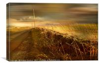 Incoming Storm, Canvas Print