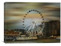 The Observation Wheel, Canvas Print
