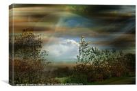 Moorland and Mists, Canvas Print