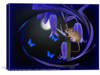 Butterfly Moon, Canvas Print