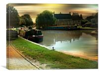 Messing  About on the River, Canvas Print
