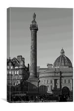 Grey's Monument, Canvas Print
