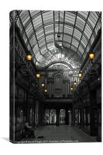 Newcastle's Central Arcade, Canvas Print