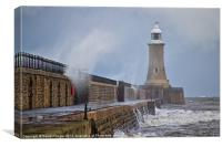 Tynemouth Pier, Canvas Print