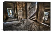 Middle floor seating, Canvas Print
