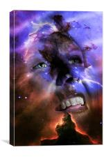 Looking into the stars., Canvas Print