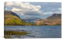 Clouds over snowdon, Canvas Print