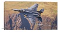 USAF F15-E Low Level, Canvas Print