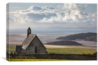 Saint Tecwyn's Church, Canvas Print