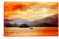 Ambleside Lake, Canvas Print