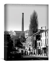 Where Have all the Chimneys Gone?. , Canvas Print