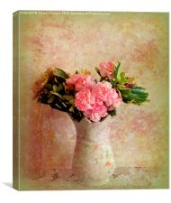 Pink and Pretty , Canvas Print