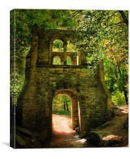 The Arch, Canvas Print