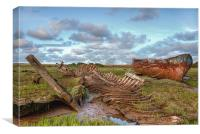 Wreckage !, Canvas Print
