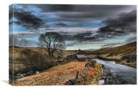 The Dales ., Canvas Print